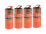 Pest-Stop Systems PRCPSFP - Fly Papers (Pack of 4)
