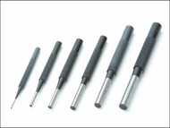 Priory PRI135SET6 - 135-S6 Parrallel Pin Punches in Wallet Set 6