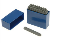 Priory PRIL316 - 181- 5.0mm Set of Letter Punches 3/16in