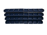 Raaco RAA139182 - Bin Wall Panel with 32 Bins