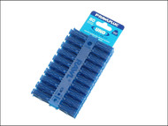 Rawlplug RAW68595 - Blue Uno Plugs Card of 80