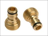 Rehau REH238683 - Brass Male Connector 19mm (3/4in)