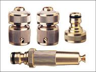 Rehau REH249546 - Brass Fittings Starter Set 12.5mm (1/2in)