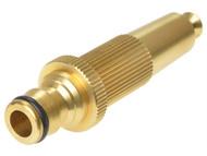 Rehau REH249556 - Brass Hose Nozzle 12.5mm (1/2in)