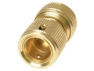 Rehau REH249576 - Brass Waterstop Connector 12.5mm (1/2in)