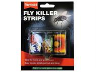 Rentokil RKLFF105 - Fly Killer Strips (Pack of 3)