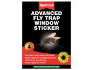 Rentokil RKLFW35 - Advanced Window Fly Traps (Pack of 4)