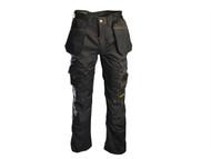 Roughneck Clothing RNKBHT3631 - Black Holster Work Trouser Waist 36in Leg 31in