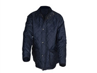 Roughneck Clothing RNKQUILTBM - Blue Quilted Jacket - M
