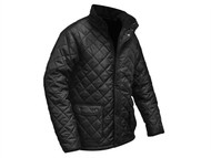 Roughneck Clothing RNKQUILTXL - Black Quilted Jacket - XL