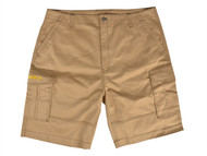 Roughneck Clothing RNKSHORT38K - Khaki Work Shorts Waist 38in
