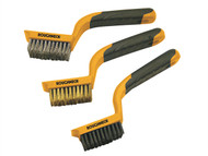Roughneck ROU52012 - Wide Brush Set of 3