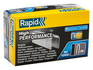 Rapid RPD2810G - 28/10 10mm DP x 5m Galvanised Staples Box 5 x 1000