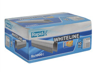 Rapid RPD2810W - 28/10 10mm DP x 5m White Staples Box 5 x 1000