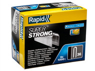 Rapid RPD3614G - 36/14 14mm DP x 5m Galvanised Staples Box 5 x 1000