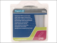 Rapid RPD40107355 - White Glue Sticks Pack of 13 12mm Diameter x 94mm