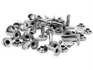 Rapid RPD5000416 - Tubular Rivets 9 x 3 x 13mm, Cap 3 x 10mm (Pack of 25)