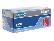 Rapid RPD5314B5000 - 53/14B 14mm Galvanised Staples Box 5000