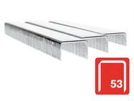 Rapid RPD536B2500 - 53/6B 6mm Galvanised Staples Box 2500