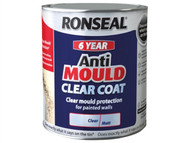 Ronseal RSLAMCM25L - 6 Year Anti Mould Clear Coat Matt 2.5 Litre