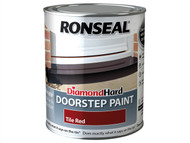 Ronseal RSLDHDSPR750 - Diamond Hard Doorstep Paint Tile Red 750ml
