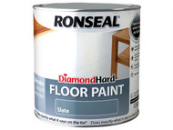 Ronseal RSLDHFPSL25L - Diamond Hard Floor Paint Slate 2.5 Litre