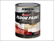 Ronseal RSLDHFPSL5L - Diamond Hard Floor Paint Slate 5 Litre