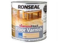 Ronseal RSLDHFVG25L - Diamond Hard Floor Varnish Gloss 2.5 Litre