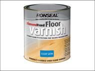 Ronseal RSLDHFVS25L - Diamond Hard Floor Varnish Satin 2.5 Litre