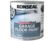 Ronseal RSLDHGFPTR5L - Diamond Hard Garage Floor Paint Tile Red 5 Litre