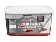 Ronseal RSLDHPFFPW25 - Diamond Hard Perfect Finish Floor Paint White 2.5 Litre