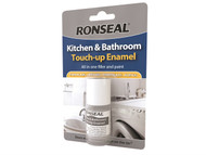 Ronseal RSLKBTUE - Kitchen & Bathroom Touch Up Enamel 10ml