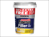 Ronseal RSLMPRMF6VP - Smooth Finish Multi Purpose Wall Filler Ready Mixed 600g +50%