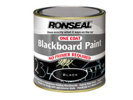 Ronseal RSLOCBBP250 - One Coat Blackboard Paint 250ml