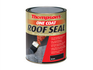 Ronseal RSLTONRS5L - Thompsons One Coat Roof Sealant Black 5 Litre