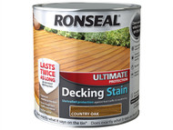 Ronseal RSLUDSCO25L - Ultimate Protection Decking Stain Country Oak 2.5 Litre
