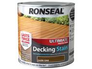 Ronseal RSLUDSDO25L - Ultimate Protection Decking Stain Dark Oak 2.5 Litre