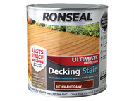 Ronseal RSLUDSRM25L - Ultimate Protection Decking Stain Rich Mahogany 2.5 Litre