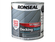Ronseal RSLUDSS25L - Ultimate Protection Decking Stain Slate 2.5 Litre