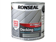 Ronseal RSLUDSSG25L - Ultimate Protection Decking Stain Stone Grey 2.5 Litre