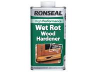 Ronseal RSLWRWH500 - Wet Rot Wood Hardener 500ml