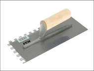 R.S.T. RST6260 - Notched Trowel Square 10 x 10mm Wooden Handle 11in x 4.1/2in