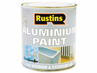 Rustins RUSAP500 - Aluminium Paint 500ml
