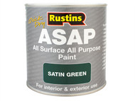 Rustins RUSASAPB500 - ASAP Paint Black 500ml