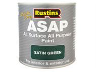 Rustins RUSASAPB500 - ASAP Paint Black 500ml