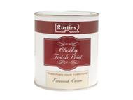Rustins RUSCPC250 - Chalky Finish Paint Kenwood Cream 250ml