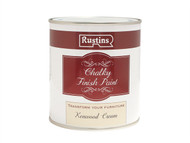 Rustins RUSCPC500 - Chalky Finish Paint Kenwood Cream 500ml