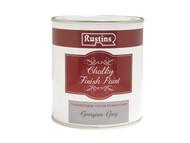 Rustins RUSCPG250 - Chalky Finish Paint Georgian Grey 250ml
