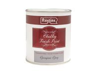 Rustins RUSCPG500 - Chalky Finish Paint Georgian Grey 500ml