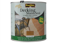 Rustins RUSDEBC2500 - Decking Stain Brown Cedar 2.5 Litre